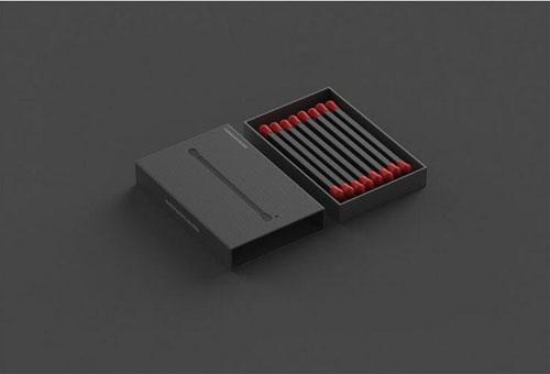 概念火柴盒包装设计(1)