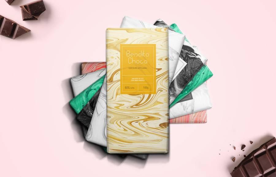 Bendito Choco巧克力包装(2)