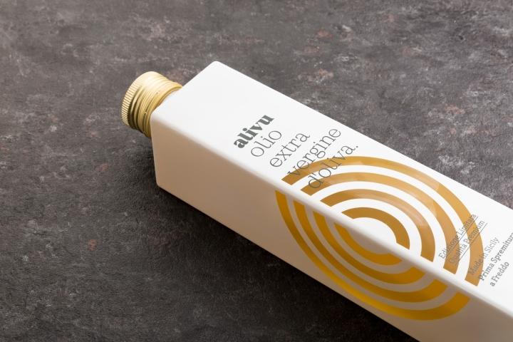 有趣的Alivu橄榄油包装设计