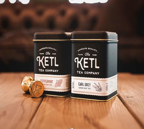 KETL品牌复古茶叶盒包装设计