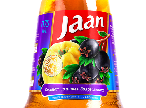 Jaan品牌罐頭包裝設計