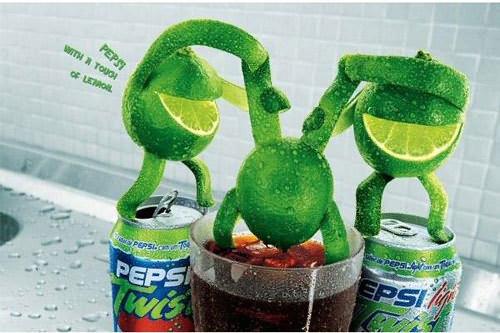 百事可乐的虐杀创意广告图片