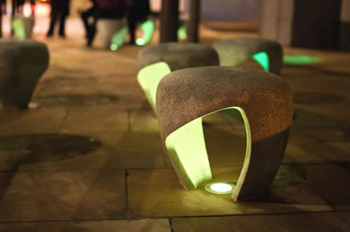 sunniside公共座椅设计