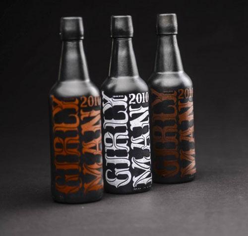 酒瓶创意包装设计
