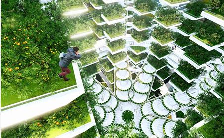 未来城市田园概念设计