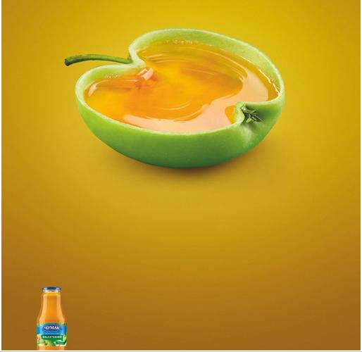 表达明确的果汁饮料广告创意
